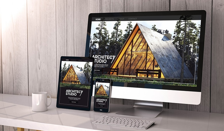 responsive web design for WordPress site on multiple devices