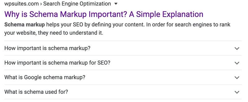 Content Optimization Schema